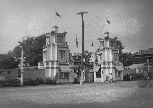 Belmont Park Entrance