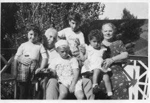 Ellie + relatives-Plage Laval