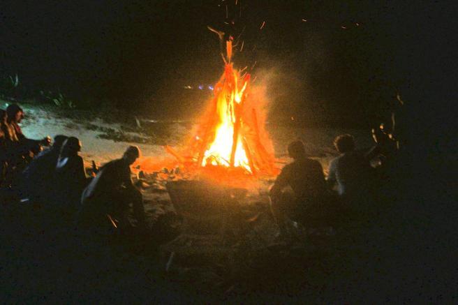 bonfire Ellie