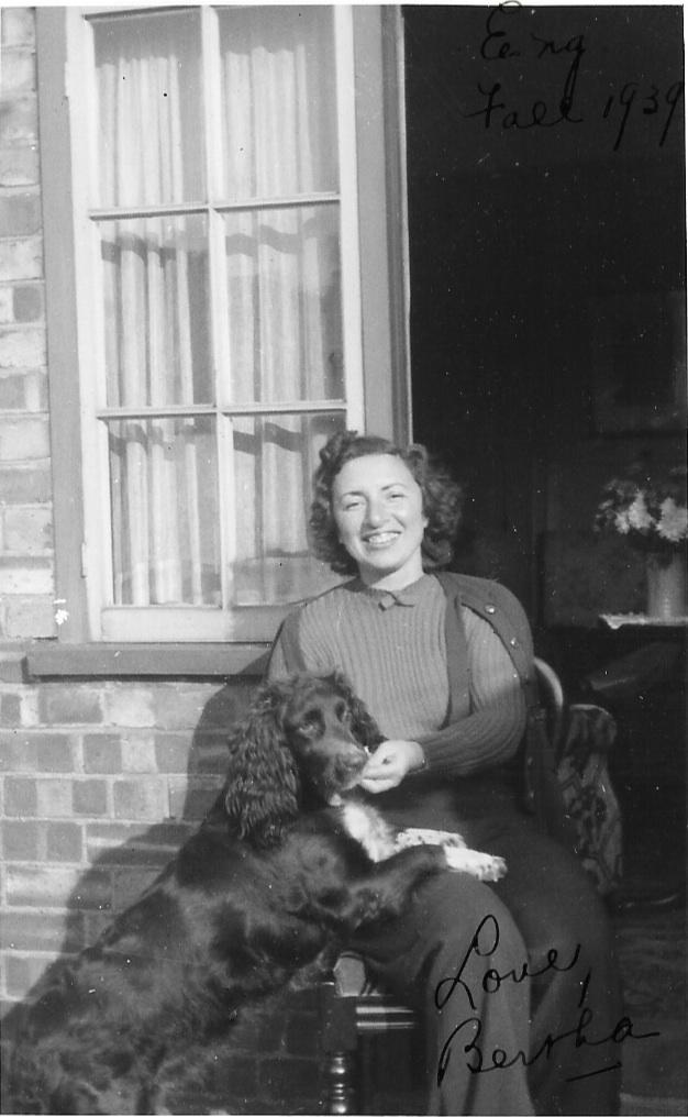 Aunt Bertha 'stuck' in England