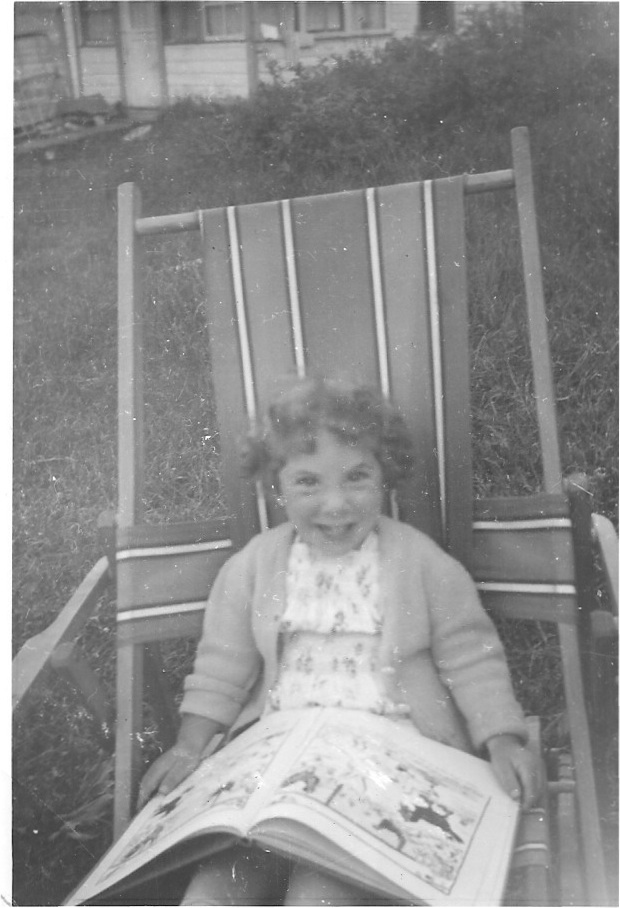 Summer 1947 - Val Morin. I told you I learned to read really young, didn't I? ;-)