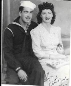 Gert + Jack in Navy uniform
