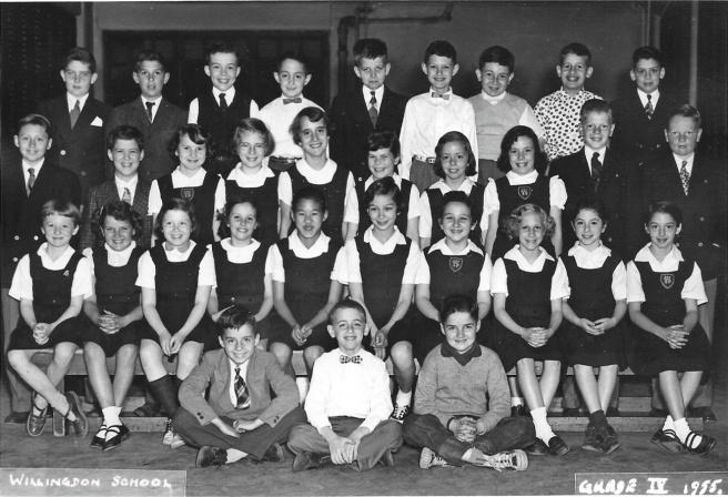 1955 grade 4 class