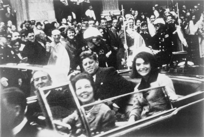 Kennedy motorcade in Dallas