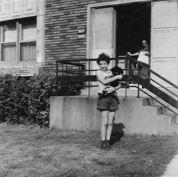 Ellie & Queenie in 1956.