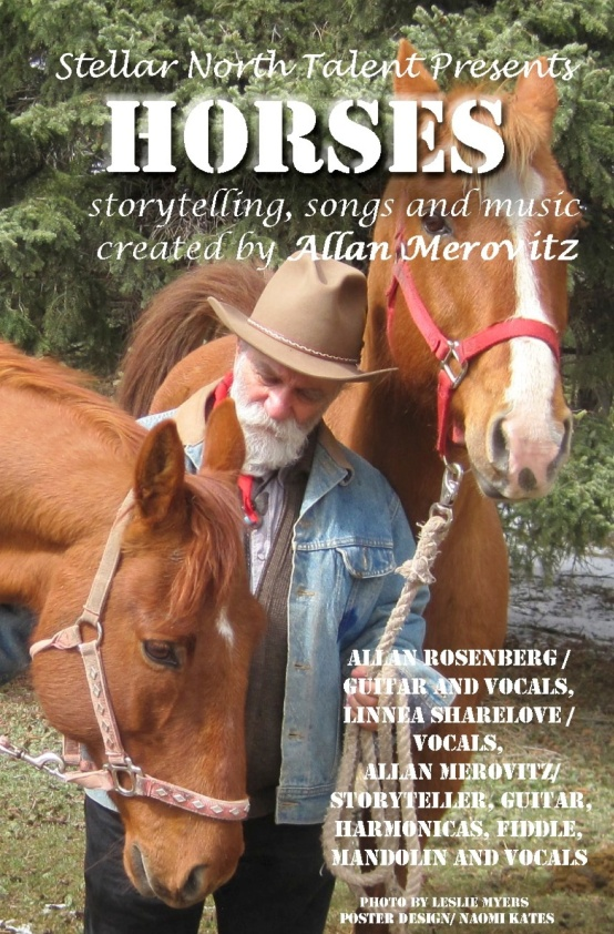 Poster for Allan Merovitz's Horses show
