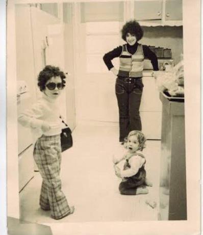 Kathryn, Jeremy & Ellie 1973