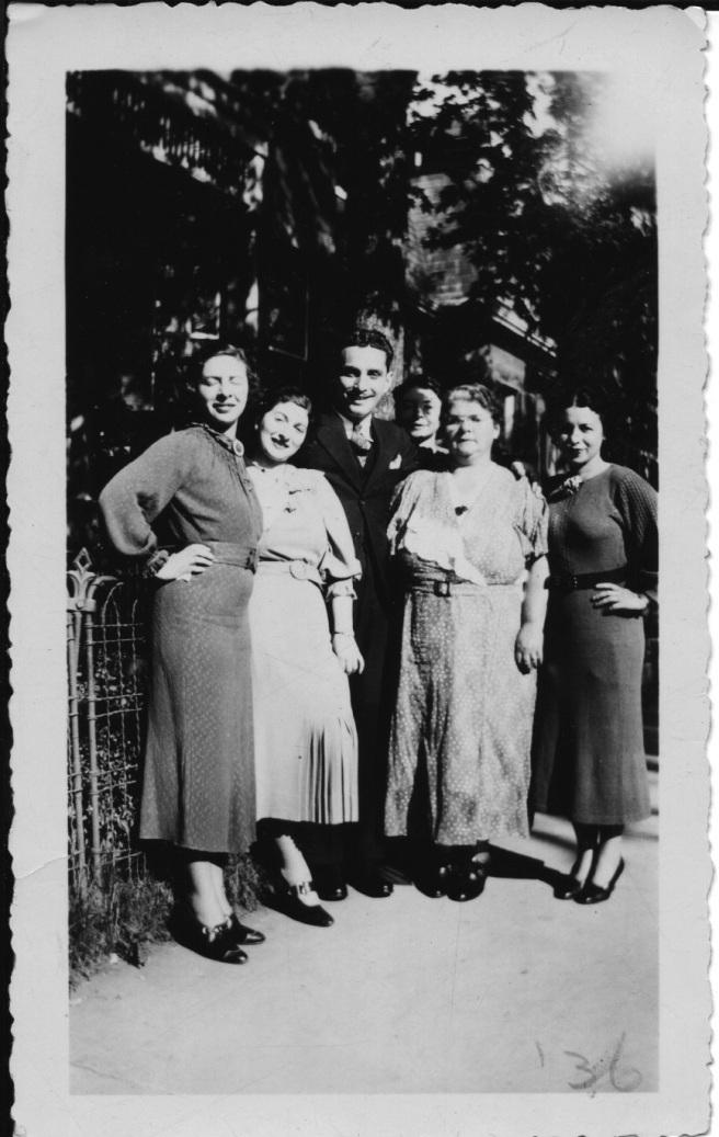 Ida & Sam engagement 1936
