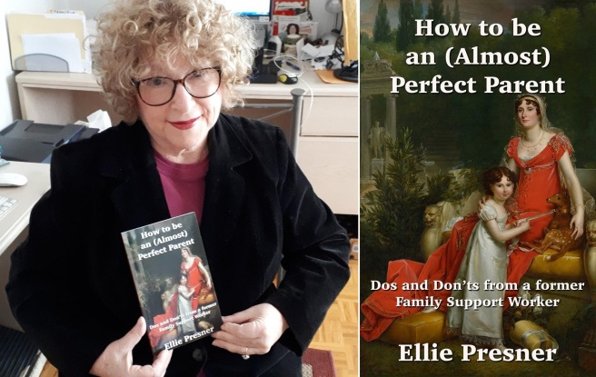 Ellie Presner & parenting book / book cover