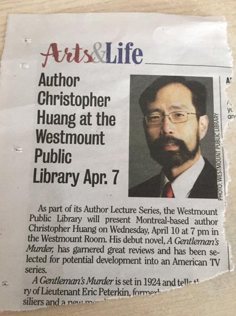 Newspaper error in date