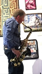 Keith on sax