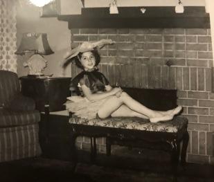 Ellie-ballet-bench-1955