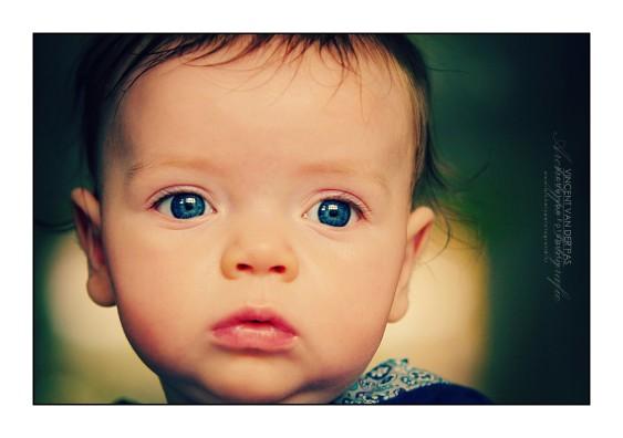 Cute baby face
