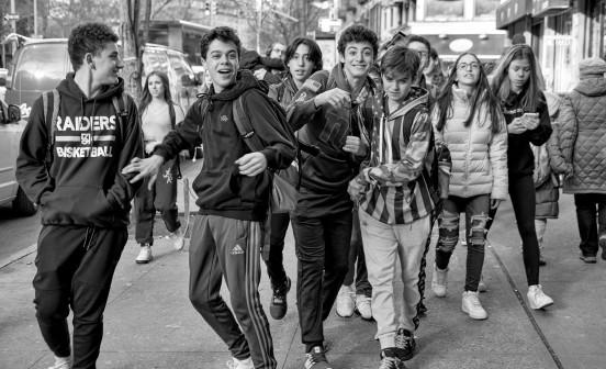 Teens-happy