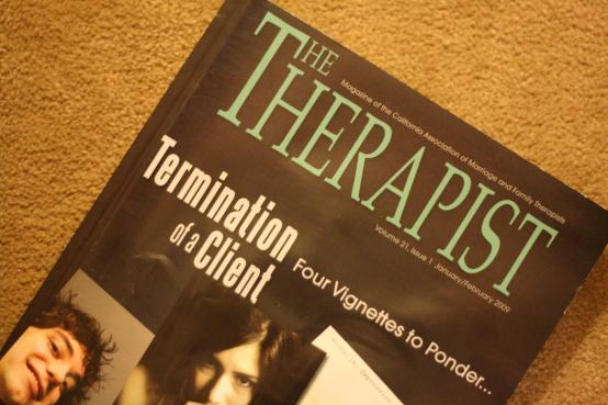 Therapist termination