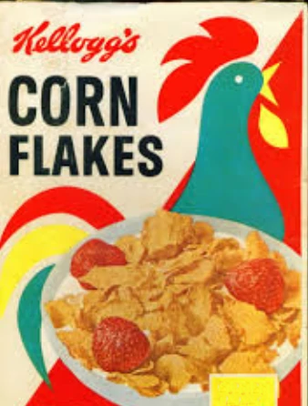 Kellogg's Corn Flakes box